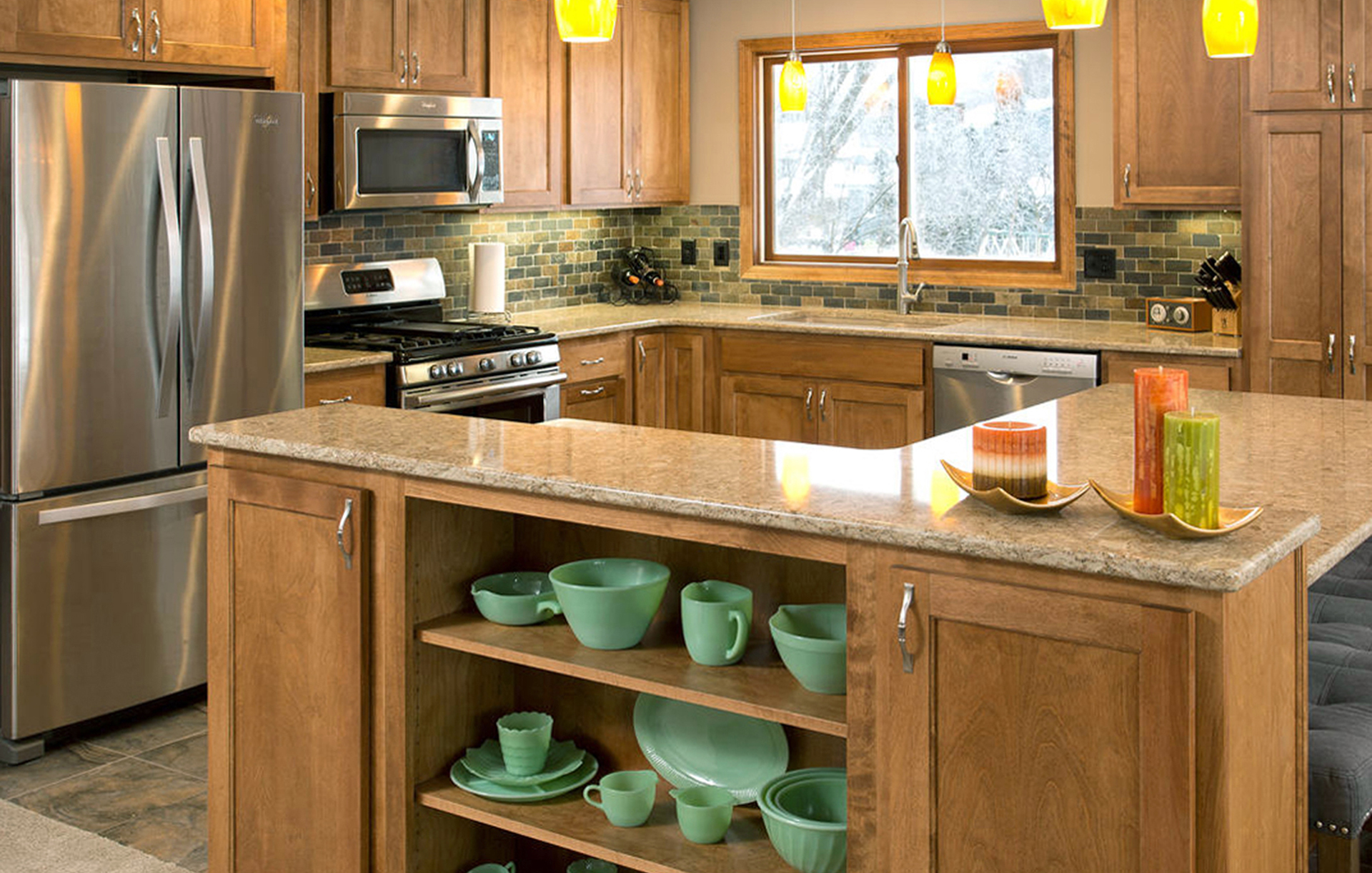 beautiful kitchen cabinets omaha